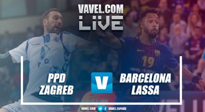 Resumen PPD Zagreb - Barcelona Lassa en EHF Velux Champions League 2017 (24-32)