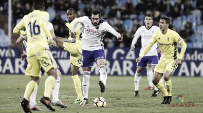 El Cádiz que lleva tres puntos de la Romareda