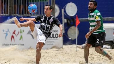 Jogo Corinthians x Lokomotiv Moscou AO VIVO online no Mundialito de futebol de areia