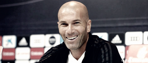 """Zidane: """"Son tres puntos importantes hoy y a ver si podemos recortar puntos con los demás"""""""