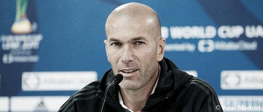 """Zinedine Zidane: """"Está claro que debemos estar mejor"""""""