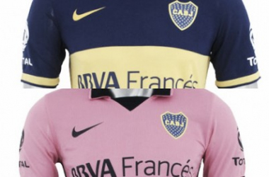 Las nuevas camisetas de Boca ya salieron a la venta