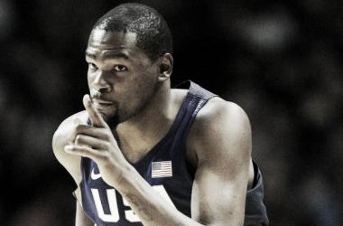 """Los Juegos Olímpicos de Río han sido """"una terapia"""" para Kevin Durant"""