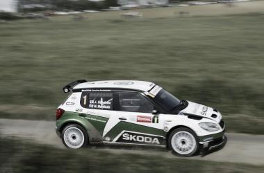 Juho Hänninen venció en la pasada edición del rally (Foto: ypresrally.com).