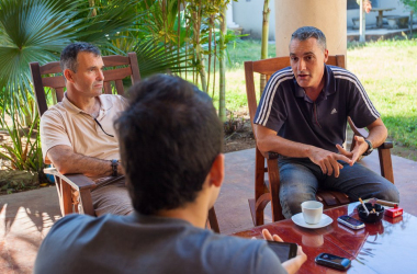 Llena muestra optimismo con su trabajo frente de las selecciones nicaragüenses.