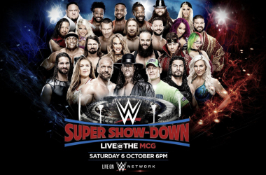 Cartelera WWE Super Show-Down