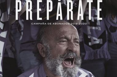 Imagen de la campaña de abonados | Real Valladolid
