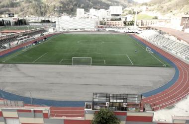Estadio del Caudal Deportivo. Foto: Mieres.es