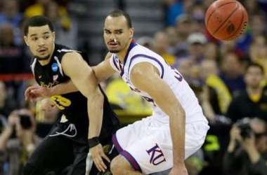 Kansas lacks an on-court killer, something Wichita State needs to survive - AP Photo/Charlie Neibergall