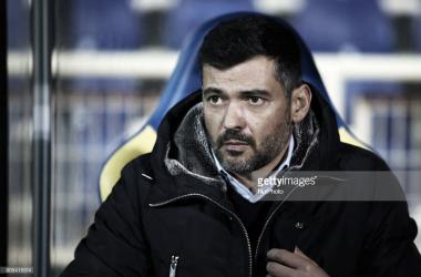 Sérgio Conceição:«É um campo tradicionalmente difícil e será talvez um dos jogos mais difíceis que iremos disputar fora, até ao final da época.»