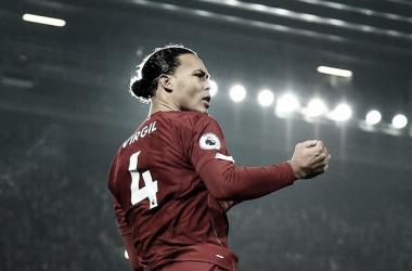 Virgil van Dijk y el drama del Liverpool