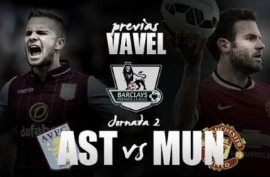 Aston Villa - Manchester United: lucha anticipada entre los más 'viles'
