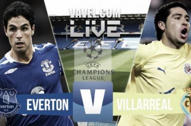 Resultado Everton - Villarreal (1-2)
