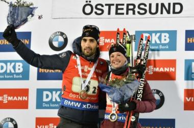 Fourcade et Dorin-Habert remportent le relais mixte simple d'Östersund