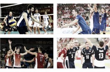 Championnats du Monde de volley-ball 2014 (Groupe E) : la France qualifiée, bataille à trois derrière