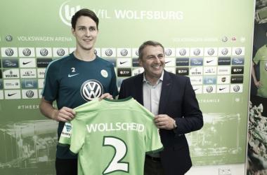 Wollscheid wird zuerst einmal ausgeliehen. | Quelle: VfL Wolfsburg