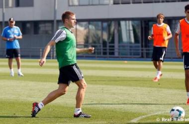 Illarramendi vuelve a los entrenamientos junto al resto de sus compañeros