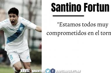 Santino Fortun: ''Me da mucha motivación que el club mire a las inferiores''