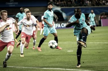 Leipzig x Porto: dragões derrotados, mas vivos // Foto: Facebook do FC Porto