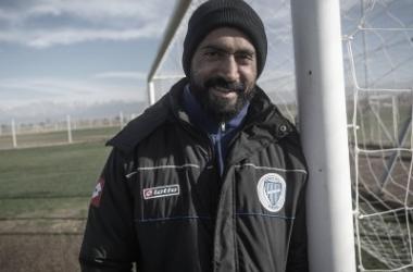 El referente del Tomba se mostró feliz ante el nuevo desafío. Foto: Ignacio Blanco para Los Andes.