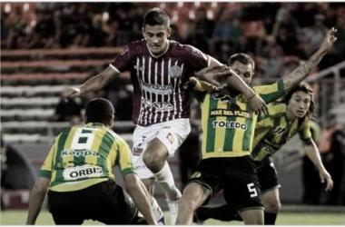 Godoy Cruz lleva la ventaja en el historial ante Aldosivi. Foto: La Voz del Neuquén.