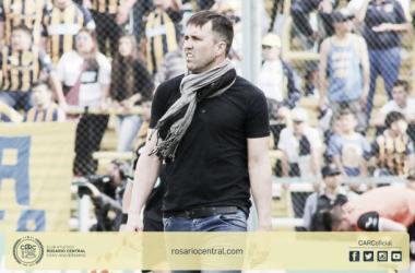 Coudet frente a Argentinos. Foto: Rosario Central.
