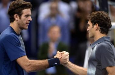 Federer y Del Potro brindaron un excelente espectáculo.