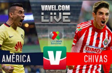 América vs Chivas en vivo y en directo online en Liguilla Liga MX 2016 (0-0)