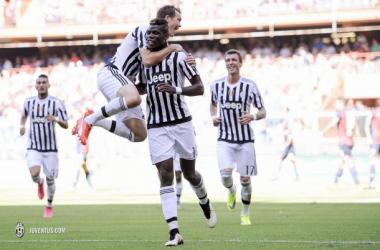Pogba lidera el primer triunfo 'bianconeri'