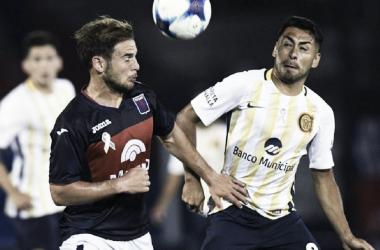 Menossi, autor del empate en la Superliga pasada. Foto: Minuto Uno.