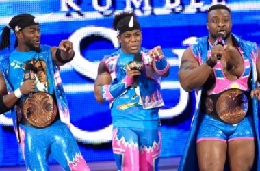 The New Day Interrupts Y2J (photo credits: WWE.Com)