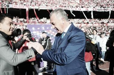 Este año se enfrentaron en el Superclásico de la Superliga, en el que igualaron 0-0 en el Monumental. Foto: Ámbito.