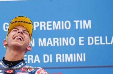Moto 3 : Bastianini l'Italien du week-end