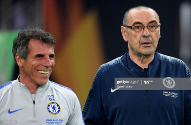 "Zola: Chelsea players got ""bored"" under Maurizio Sarri"