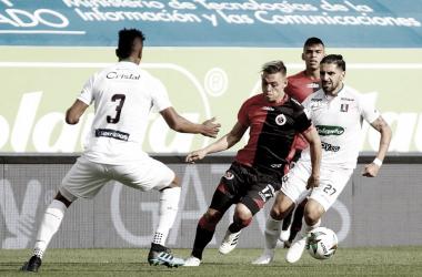 Once Caldas suma un nuevo empate en casa, el Goleador apareció, pero no alcanzó.