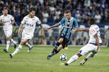 Cruzeiro e Grêmio se encontraram na semifinal da Copa do Brasil e Raposa levou a melhor (Foto: Lucas Uebel / Grêmio)