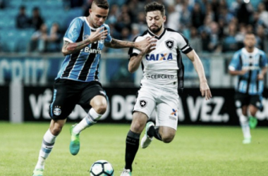 Grêmio enfrenta Botafogo em duelo valendo vaga às semifinais da Libertadores
