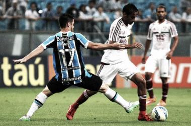Sedentos por voltar a vencer, Grêmio e Fluminense se enfrentam na Arena