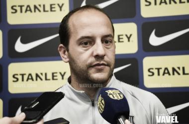 """Lluís Cortés: """"Si viajamos a Dinamarca con un resultado apretado sería una temeridad"""""""