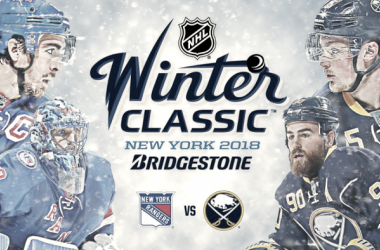 Buffalo and the Rangers are set to face each other in the 2018 Winter Classic (Photo: NHL PR)