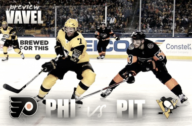 Pittsburgh Penguins vs Philadelphia Flyers playoff preview (Photo montage: Vavel)