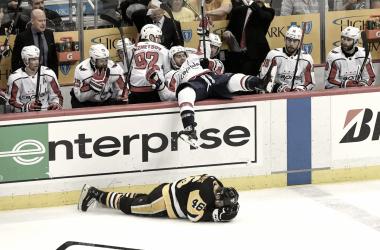 The Capitals take the 2-1 series lead (The Washington Post/Toni L. Sandys)