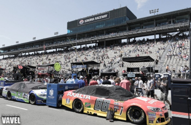 Pre-race Photos from Toyota Save Mart 350