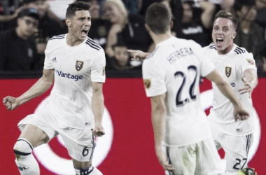 Real Salt Lake se coloca en Semifinales