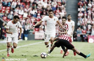 Instantánea del Athletic Club - Valencia F. C. de la temporada 2016/17 | Fuente: Valenciafc.com