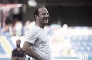 """Lluís Cortés: """"Intentaremos potenciar todas nuestras virtudes para contrarrestar el juego del Levante"""""""