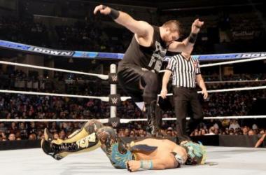 Kevin Owens v Kalisto! Credit: WWE.com