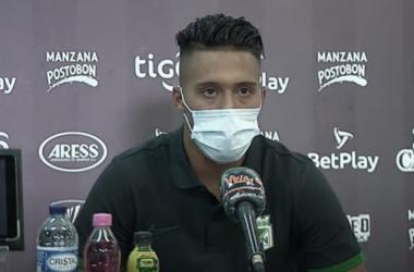 """Sebastián Gómez: """"Sometimos al rival, nos adueñamos del juego"""""""