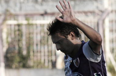 Martín Ligüera marcó la diferencia con un golazo de tiro libre. Imagen: Tenfield.