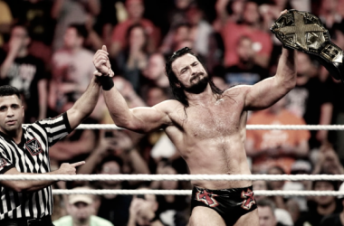 Drew McIntyre captured the NXT Championship after defeating Bobby Roode (image: WWE)